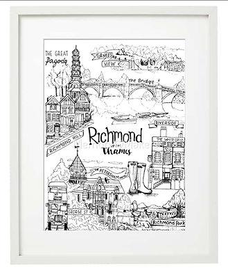 Richmond Medley B&W by Millie Giglio