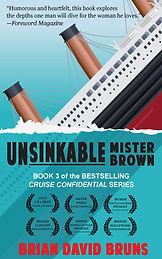 Unsinkable Mister Brown book cover Brian David Bruns