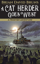 A Cat Herder Goes West Bruns book cover