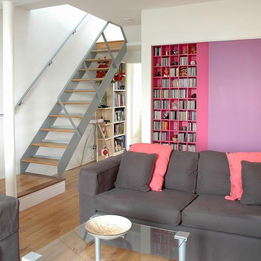 Malvern Buildings - house renovation