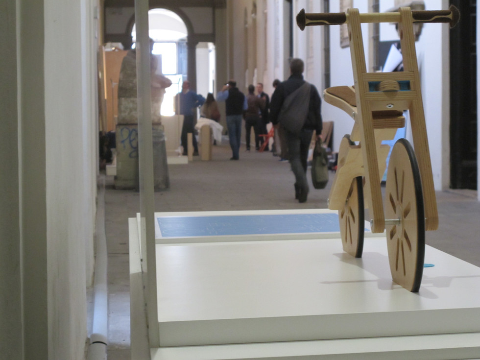 XX1 Triennale | tBike @ Accademia di Brera | press preview