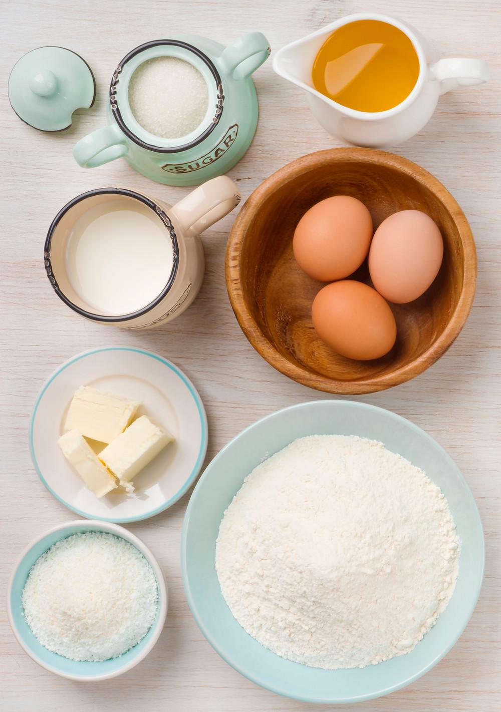Gluten and dairy
