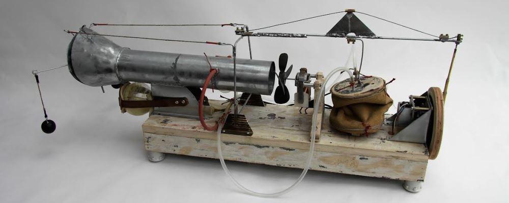 stuifmeelverspreider met zwarte ventilator