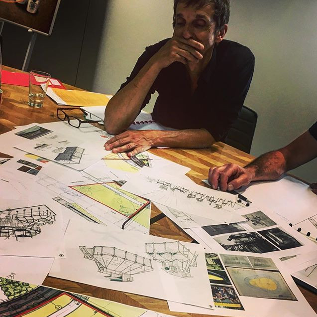 Brainstorm project ahead.. #scenography