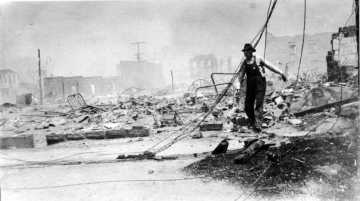 Justice for Greenwood Destruction 1921 Tulsa Race Massacre