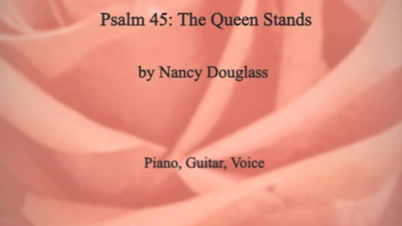 Psalm 45: The Queen Stands octavo