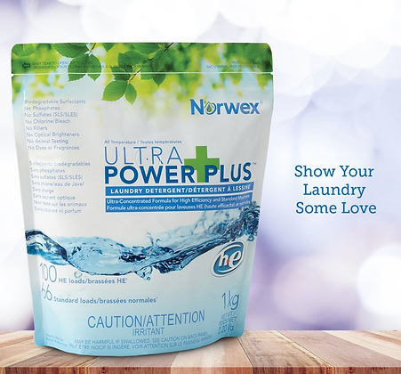 Ultra Power Plus™ Laundry Detergent - HE 2.2lbs