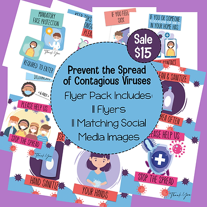 Prevent the Spread Flyer Pack