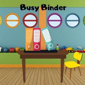 English Busy Binder