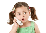 child girl phone