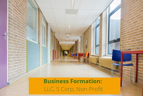 Business Formation (Non Profit)
