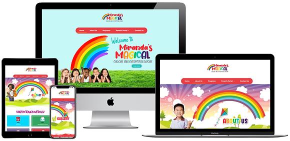 Custom  Childcare Website