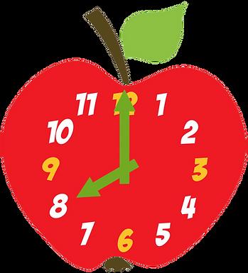 apple clock
