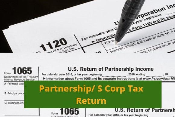 Partnership/S Corp Tax Preparation