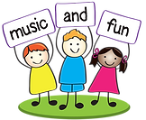music and fun clipart