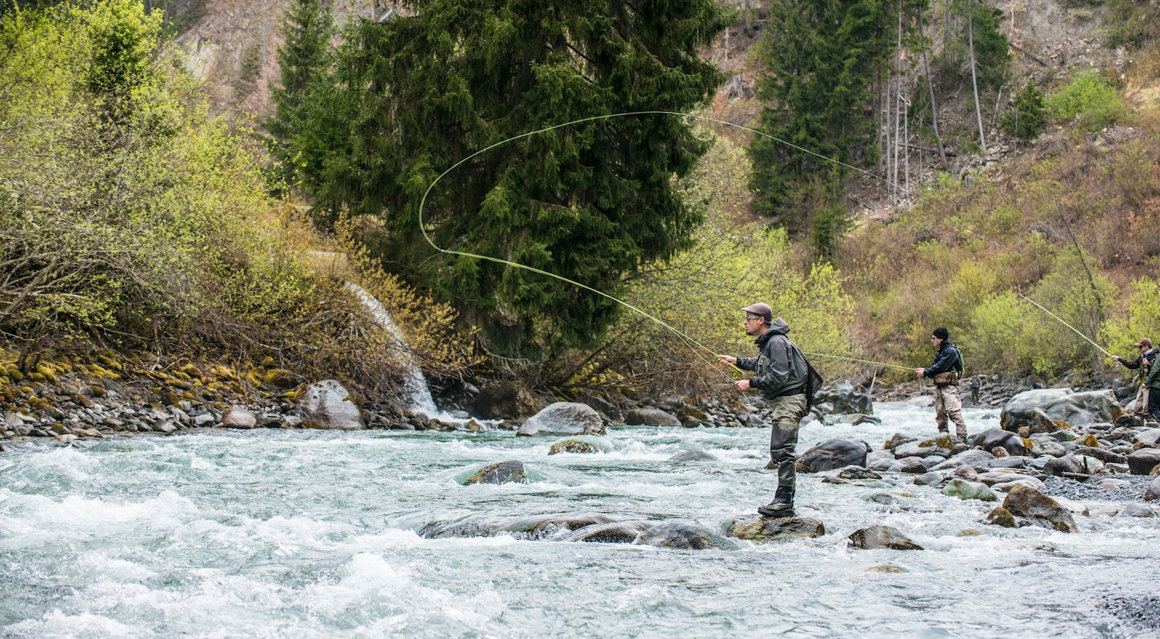 Flyfishing Engadine Fliegenfischen Engadin Guiding Catch and Release Unterengadin fischen Scuol Inn S-charl Renato Vitalini Rutenbau Rodbuilding Custom Fly Rod