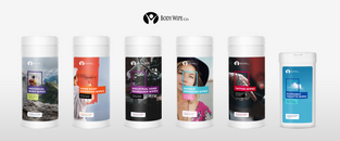 Body Wipe Company - New Product Packaging Pt.2