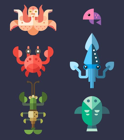 Ocean Creatures.png