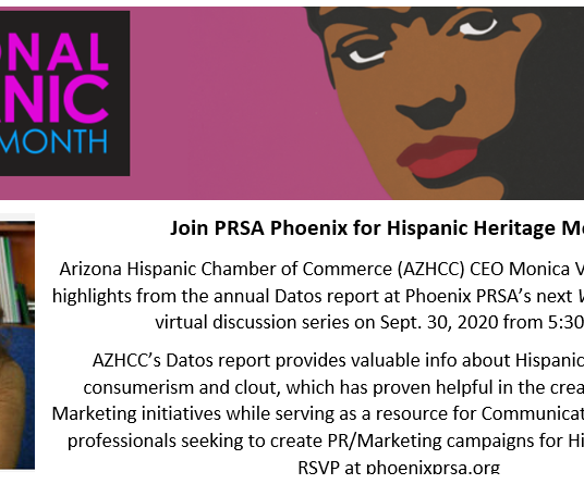 Arizona Hispanic Chamber of Commerce President & CEO Shares Wisdom on State's Latinx Community