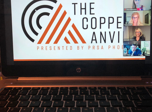 PRSA Phoenix Chapter Honors 2020 Copper Anvil Award Winners
