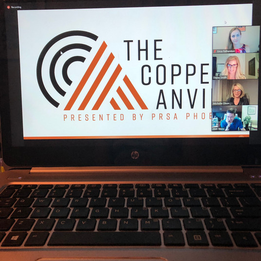 PRSA Phoenix Chapter Honors 2020 Copper Anvil Award Winners