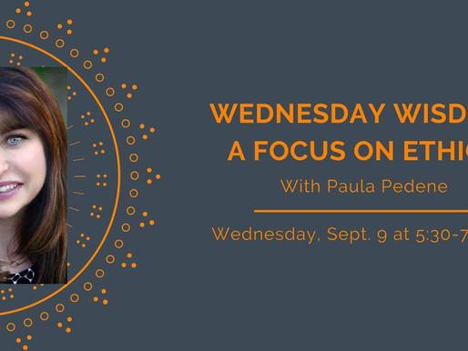 Award-winning PR Pro, Paula Pedene, Talks Ethics With PRSA Phoenix for Wednesday Wisdom Series