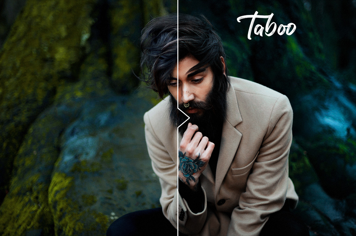 Taboo Photoshop Actions - preview