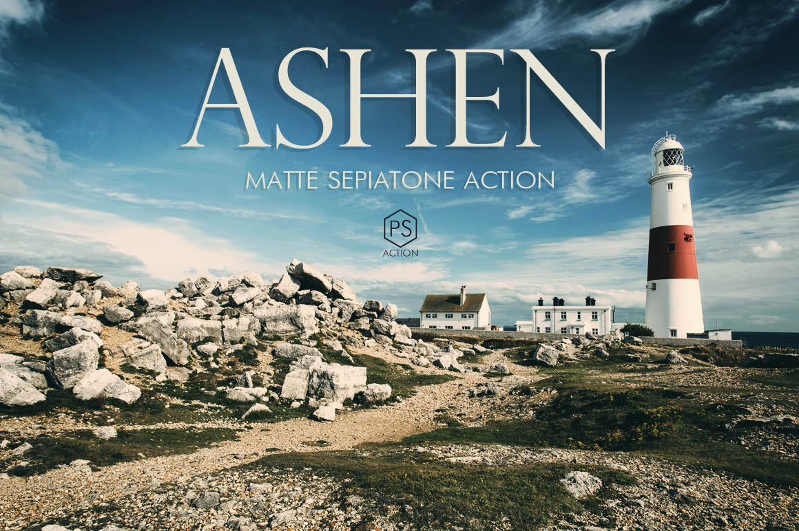 Ashen Landscape Photoshop Action