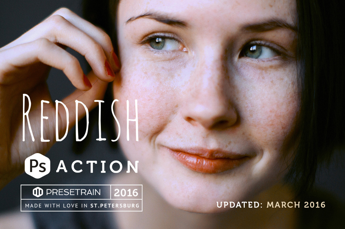 Reddish Pro Photoshop Actions
