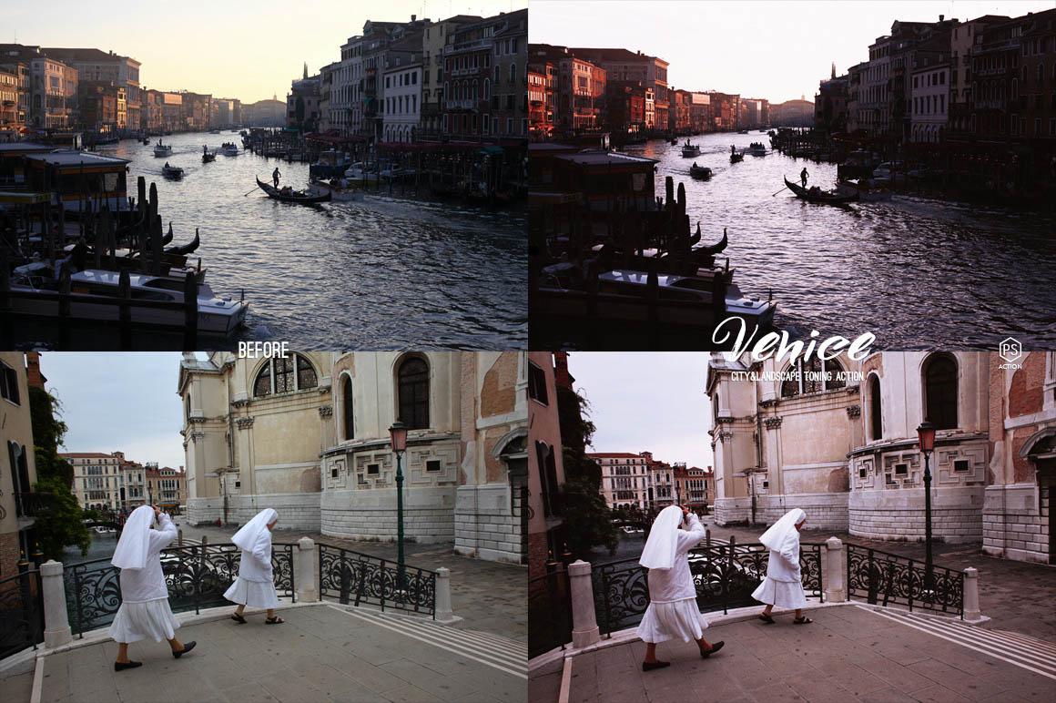 Venice Photoshop Action - preview