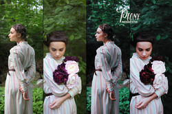 Peony Photoshop Action - preview