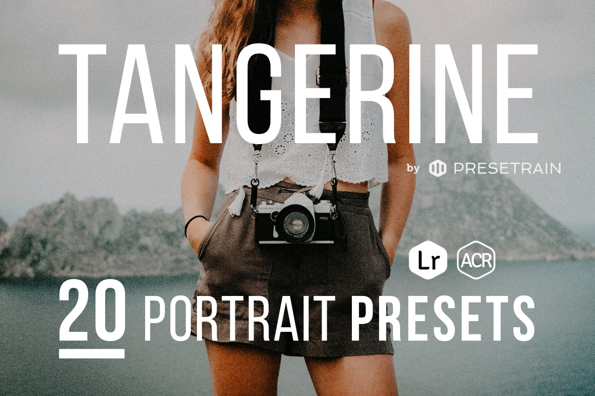 Tangerine Matte Portrait Presets
