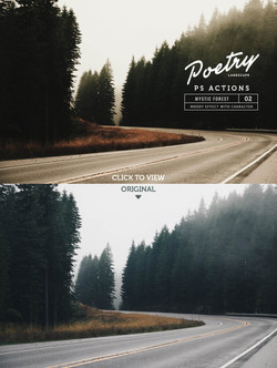 Poetry Landscape Photoshop Actions - preview