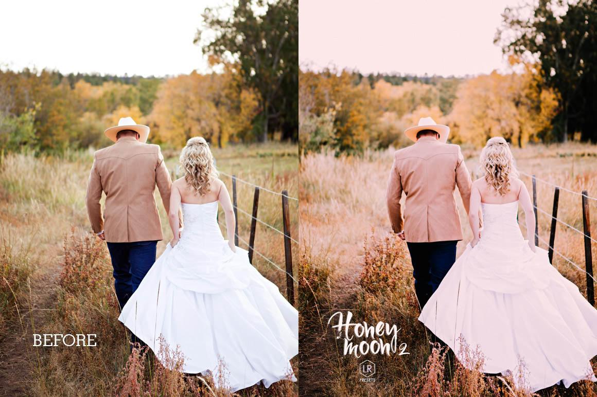 Honeymoon Wedding Lightroom Presets - preview