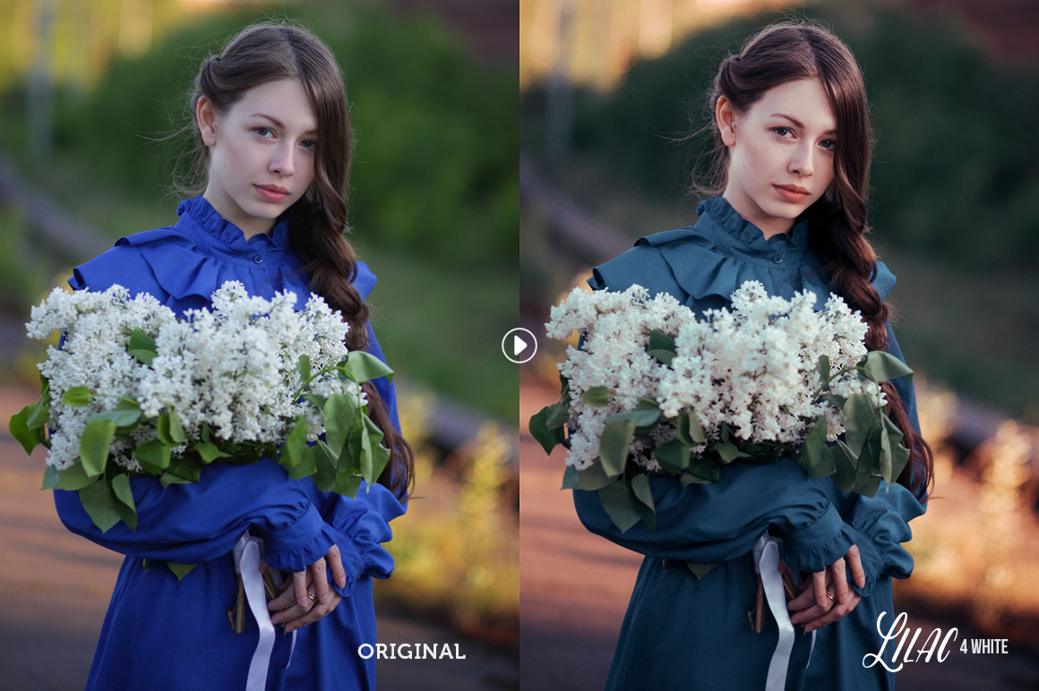 Lilac Lightroom Presets - preview