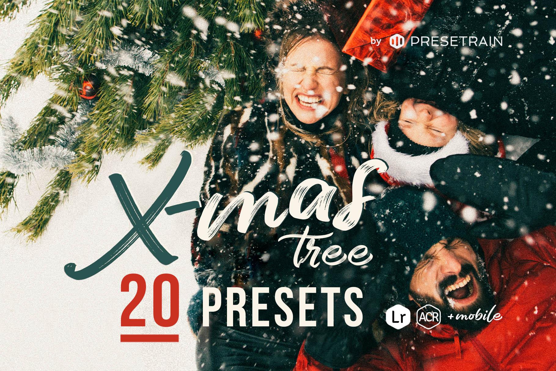 Christmas Tree Presets by Presetrain