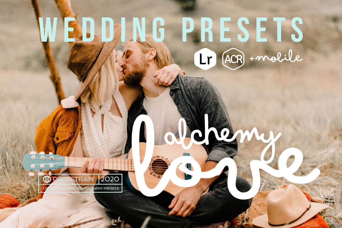 Alchemy Love Wedding Presets by Presetra
