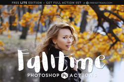 Free Photoshop Actions by Presetrain