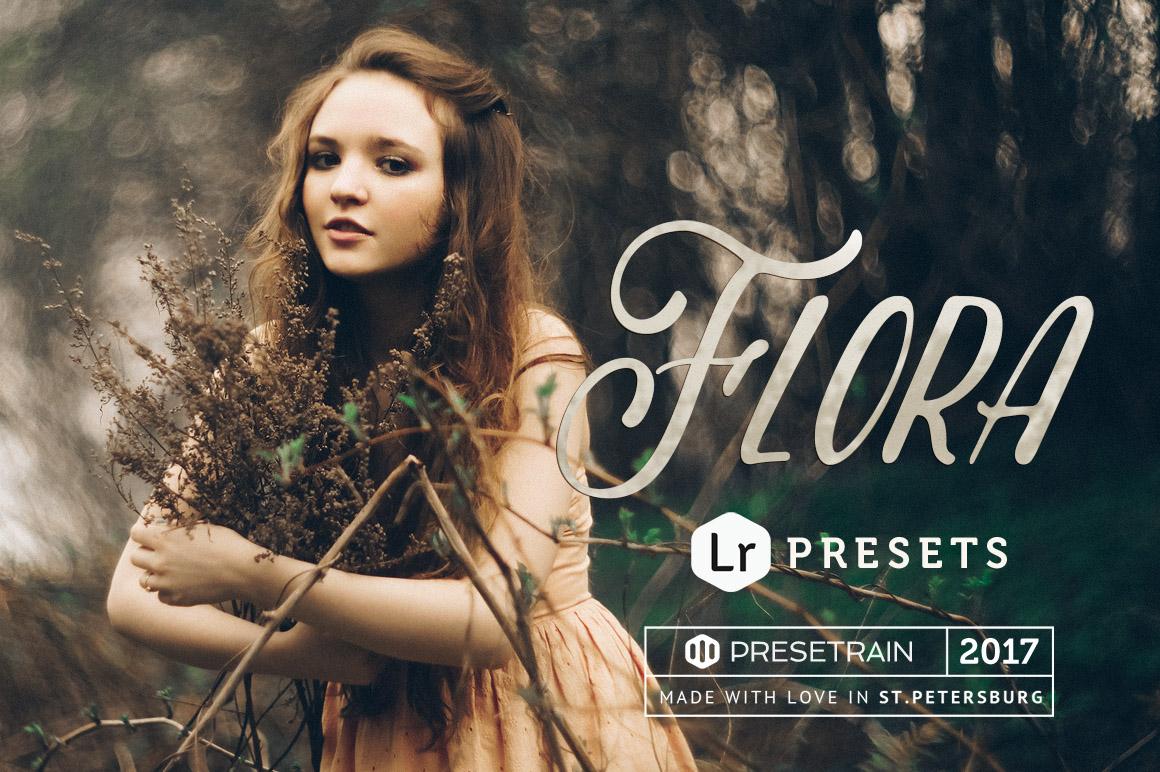 Flora Portrait Lightroom Presets