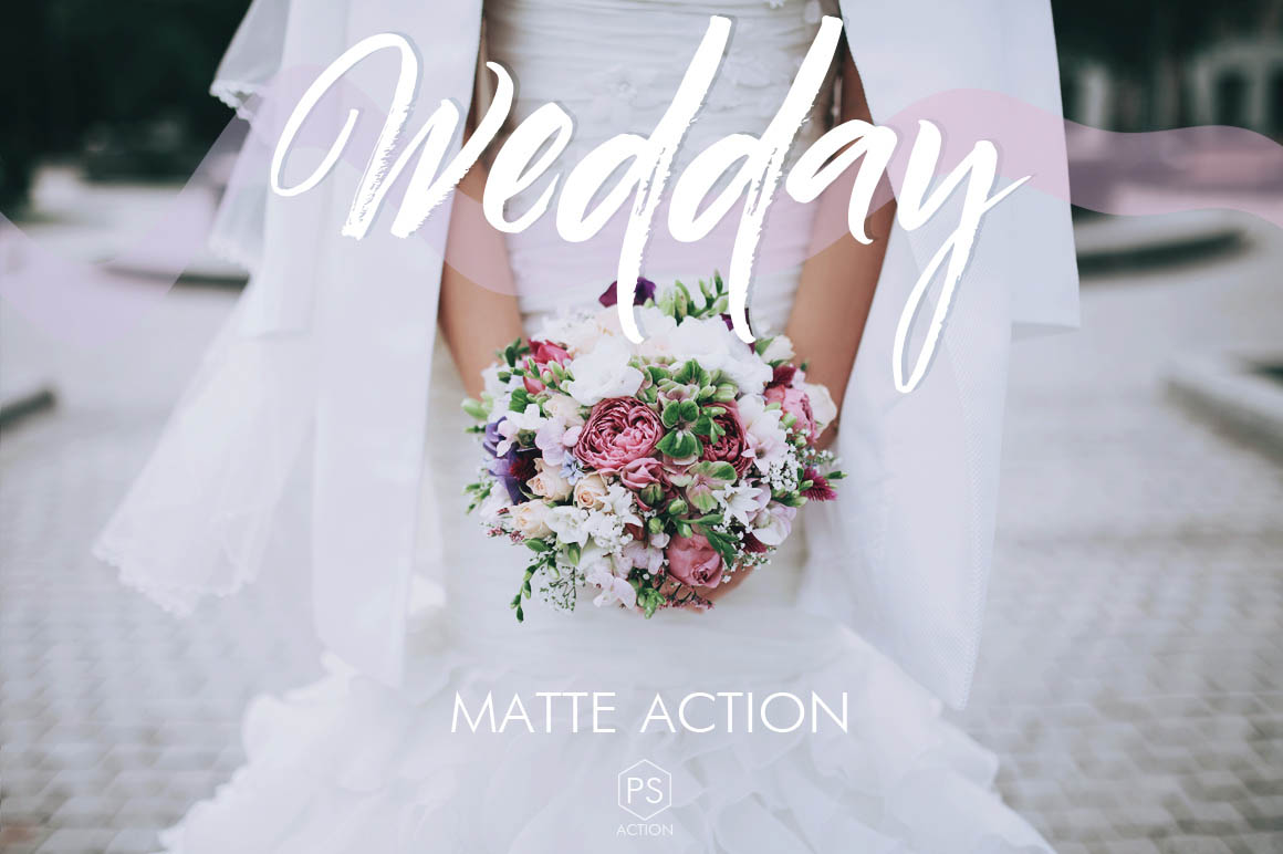 Wedday Photoshop Actions