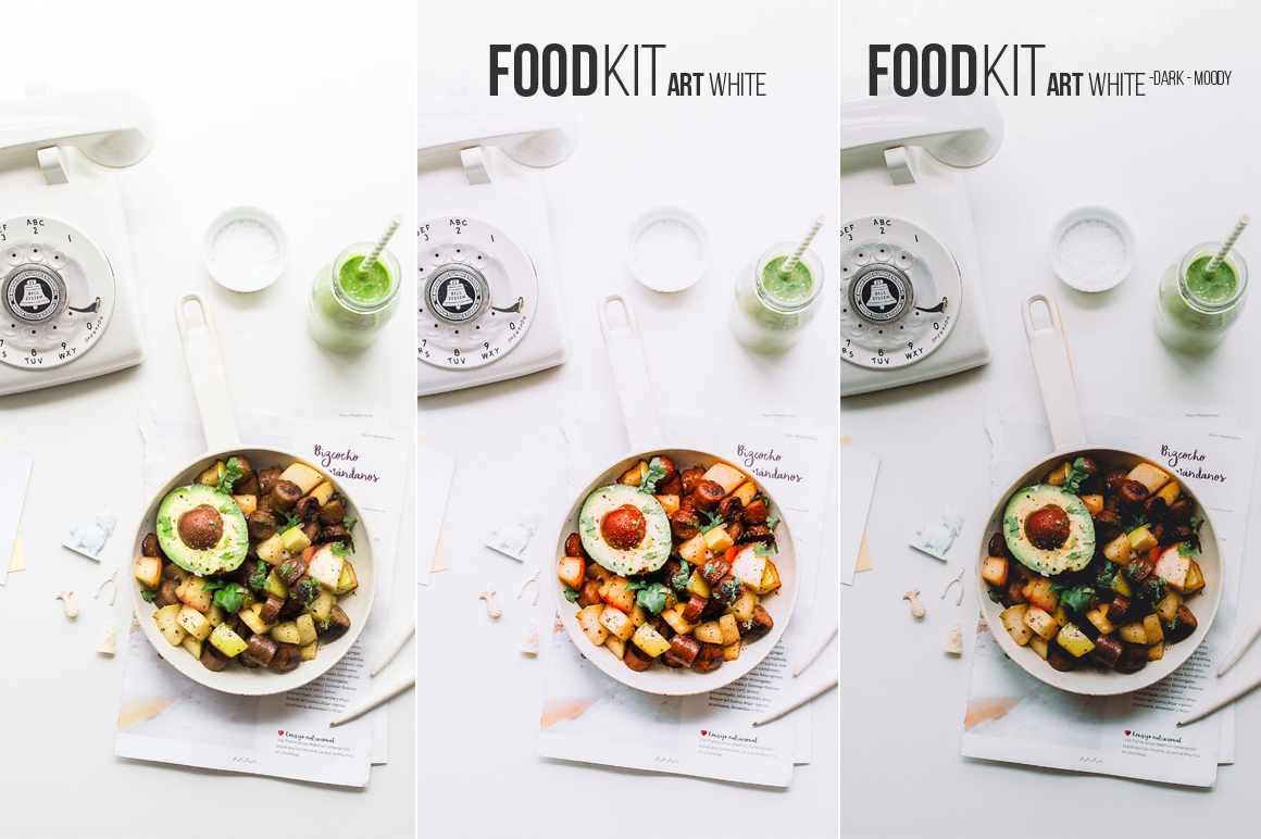 FoodKit - 42 Lightroom & Adobe Camera Raw Presets by