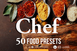 Chef Food Presets for desktop and Mobile