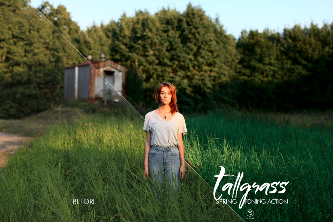 Tallgrass Photoshop Action - preview