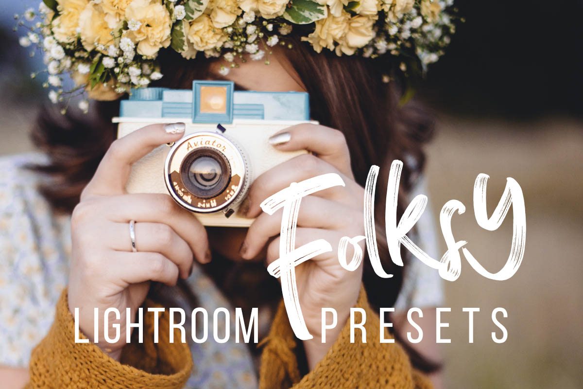 Folksy Lightroom Presets by Presetrain C