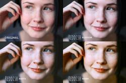 Reddish Pro Photoshop Action - preview