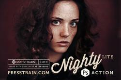 Nighty Lite Photoshop Action - Free!