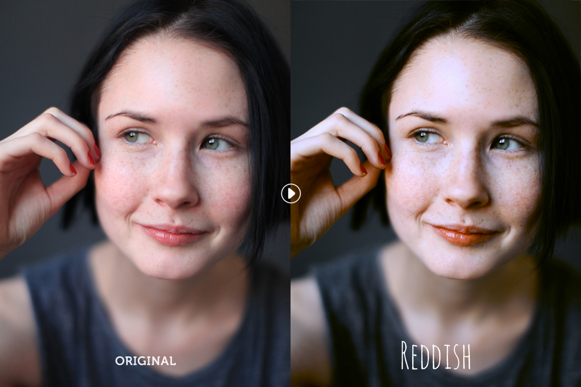 Reddish Pro Photoshop Action - preview