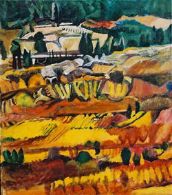 Autumn Fields in Judea,1997