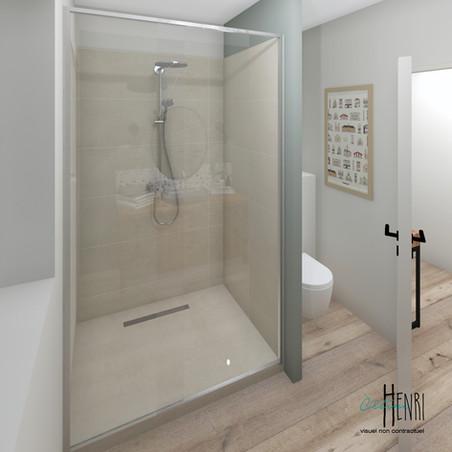 La salle de douche des amis
