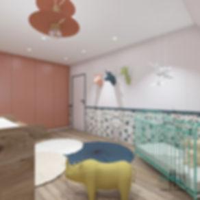 chambre enfant trophés